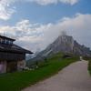 Incredible views from Rifugio Passo Giau