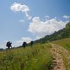 On the climb from Rifugio Staulanza