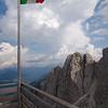Views from the Rifugio Coldai terrace