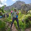 Lunch break on the trail