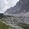 A long walk around Monte Civetta