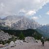 Descending towards Rifugio Vazzoler