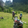 Snack break before our final climb to Forcella del Camp (1933m)