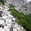 Over the day's passes, on our way to Rifugio Carestiato