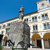 Belluno townhall in the Piazza Duomo