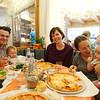 Cortina pizza dinner