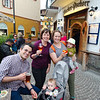 Pre-dinner drinks in Cortina