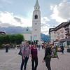 Central Cortina d'Ampezzo, along pedestrian Corso Italia