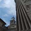 Quiet Venice church plaza