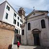 Exploring quiet side streets of Venice