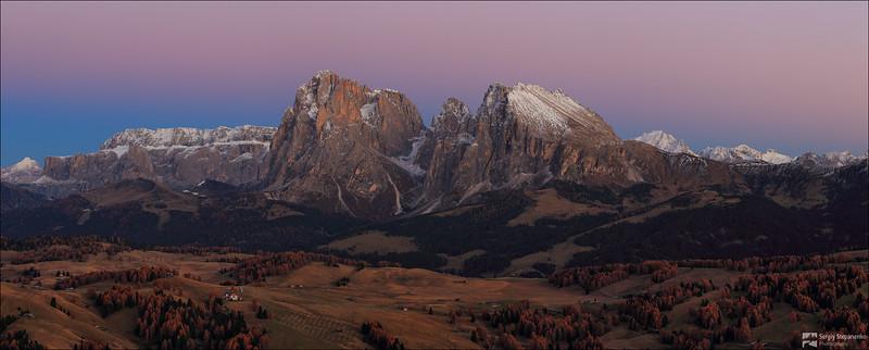 Sassolungo View | Вид на Sassolungo