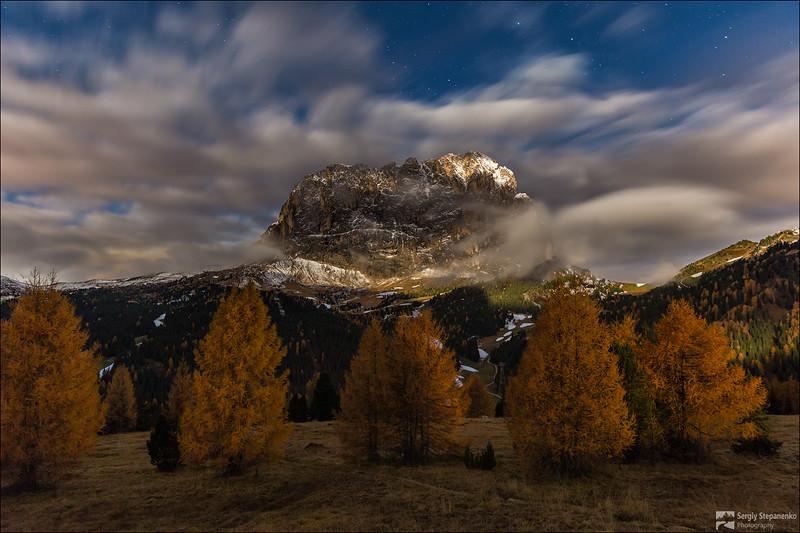 Moonlight of the Dolomites | Лунный свет Доломитовых Альп