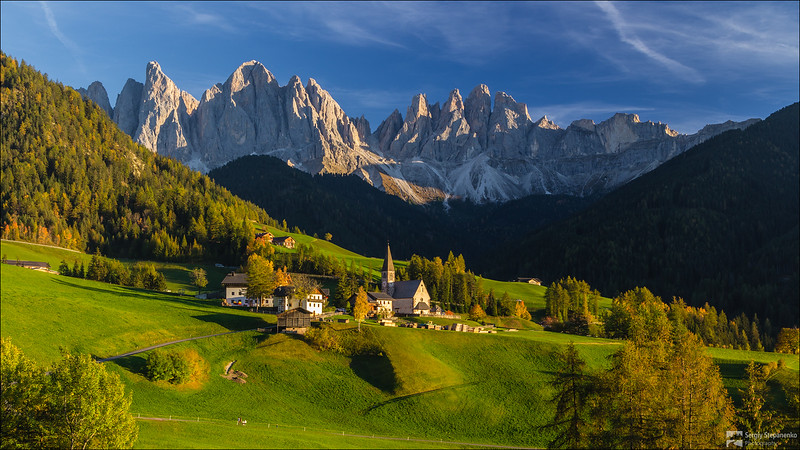 In Santa Maddanela village | В деревушке Santa Maddanela