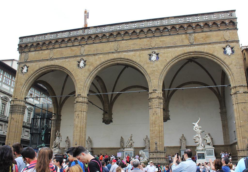 Piazza della Signoria and Loggia dei Lanzi