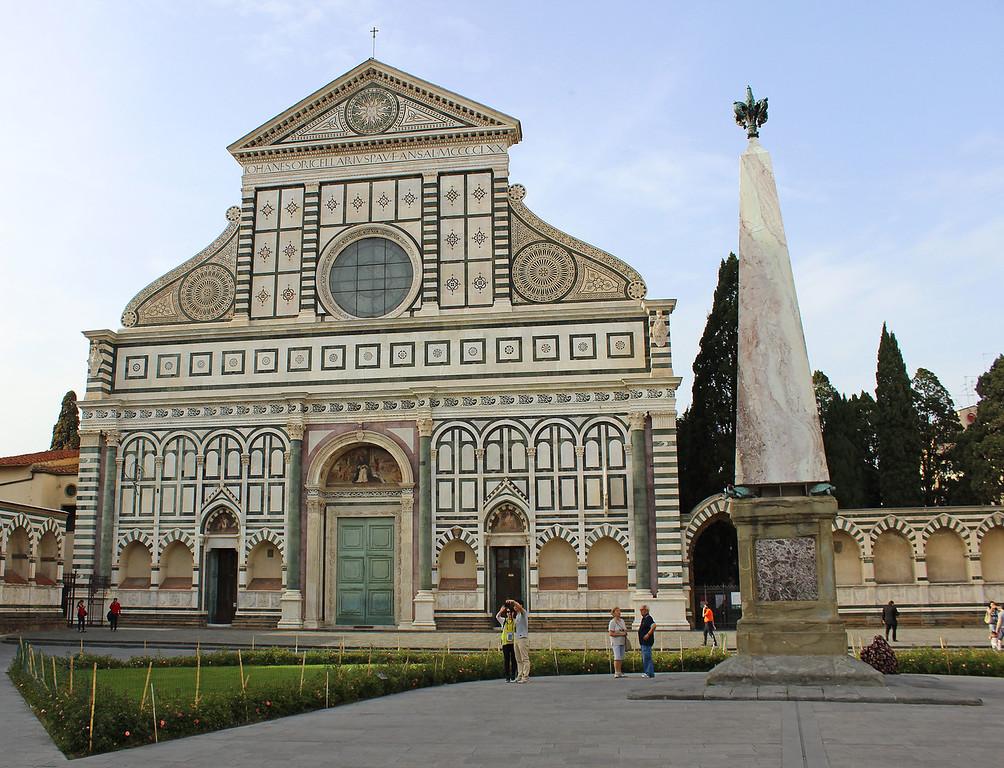 Basilica of Santa Maria Novella in Florence Italy