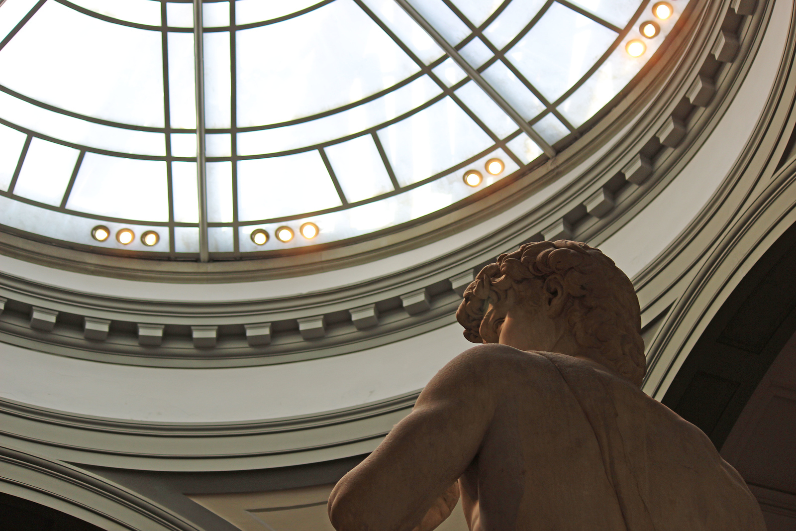 Michaelangelo's David at Accademia Gallery Florence