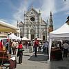 Santa Croce bazaar