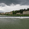 Storm clouds over the Arno