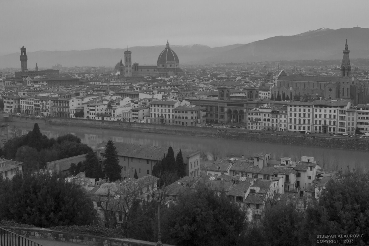 Florence View from Hills