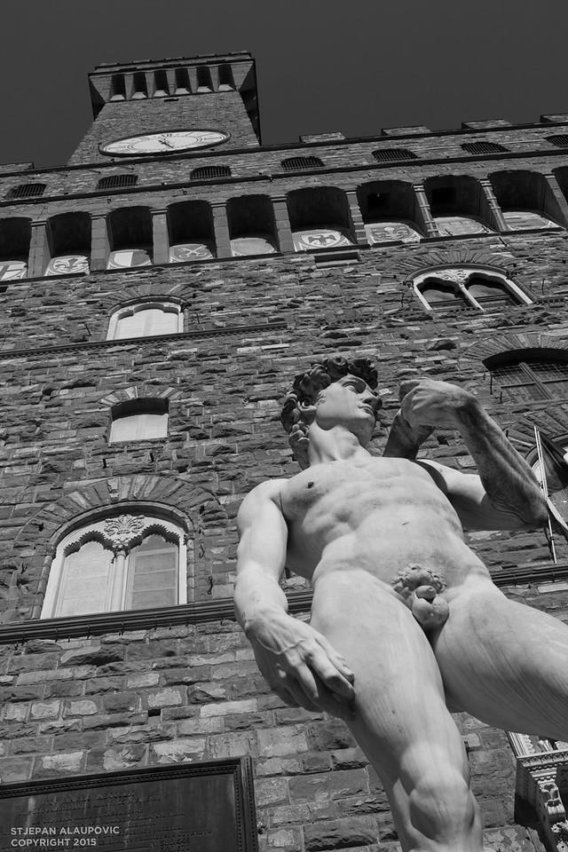 Statue of David in Piazza della Signoria