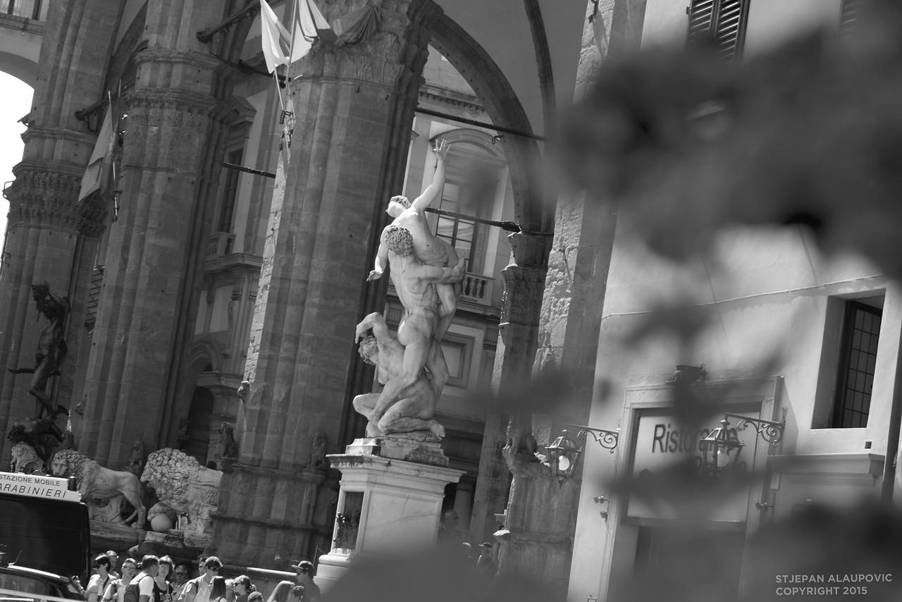 The Rape of the Sabine Women Sculpture