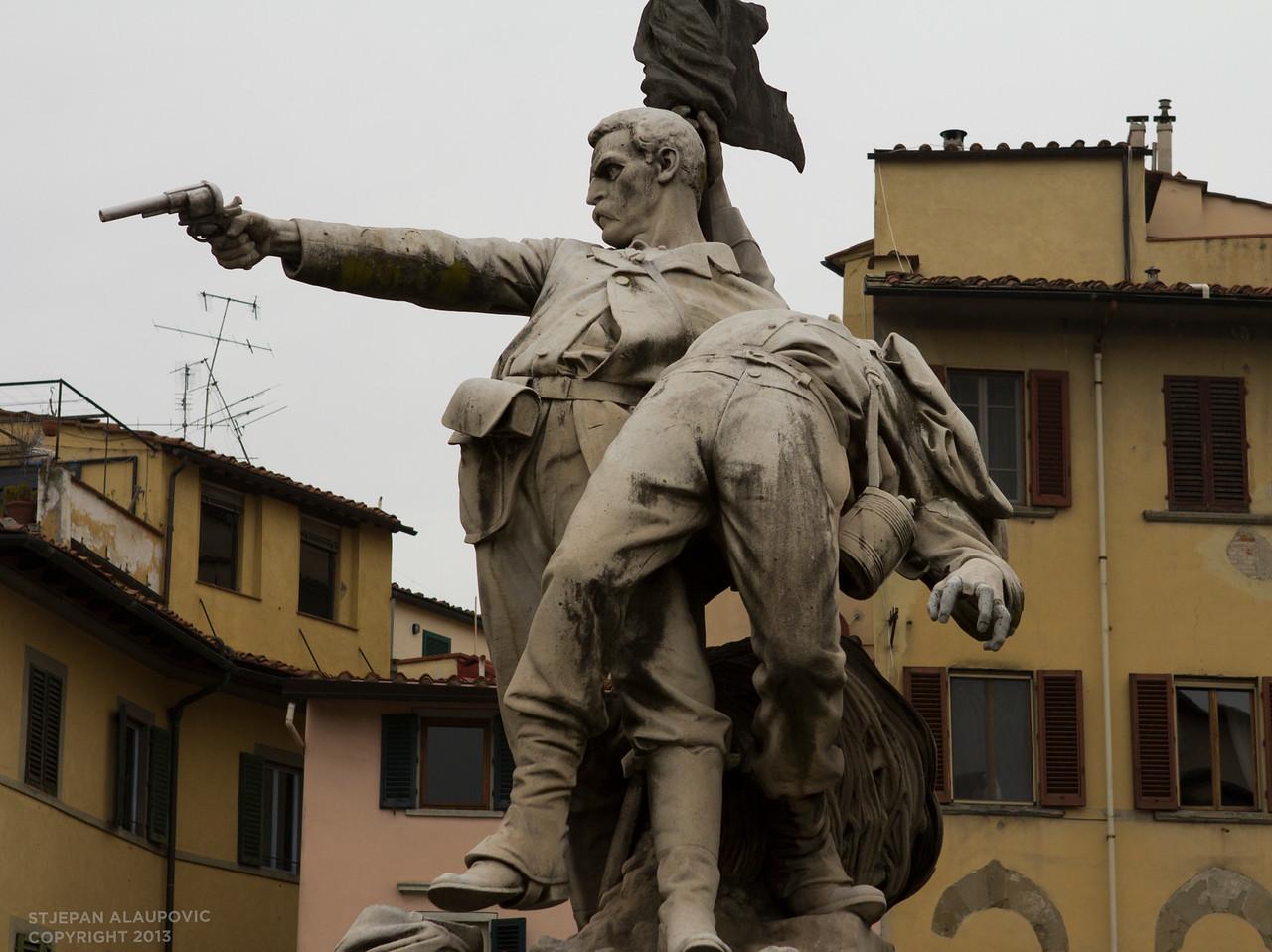 Gunman Statue