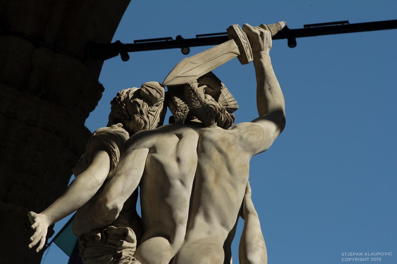Statues in Loggia dei Lanzi