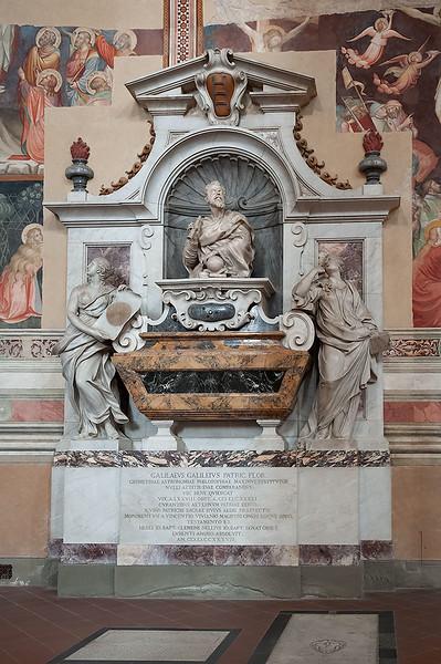 Burial Place of Galileo Galilei