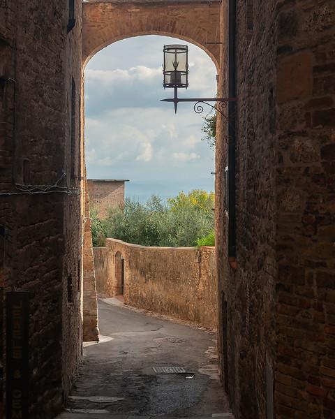 Street of San Gimignano