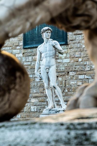 Outdoor David, Florence