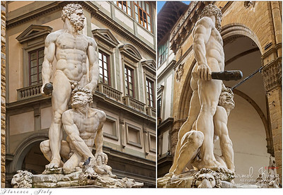 """Hercules and Cacus"" by Baccio Bandinelli"