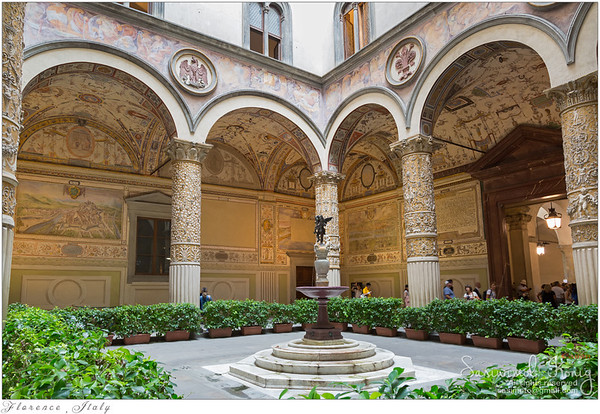 Old Palace, Palazzo Vecchio's first Courtyard