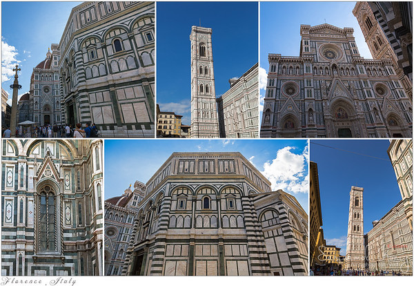@Piazza Del Duomo, visiting Florence Cathedral and Giotto's bell Tower