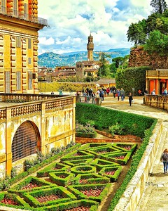 """Landscaped Firenze"" - Florence"