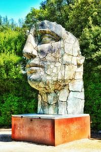 "Igor Mitoraj's ""Tyndareus Cracked"" Boboli Gardens - Firenze"