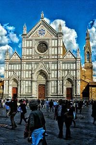 """""""Santa Croce"""" - Florence"""