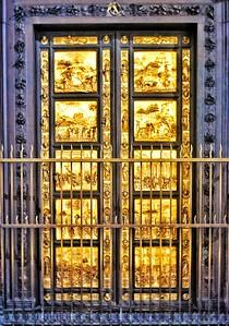 """Gates of Paradise, by Lorenzo Ghiberti"" - Firenze"