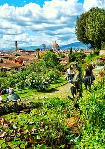 """""""Rose Garden Vista"""" - Firenze, Italia"""