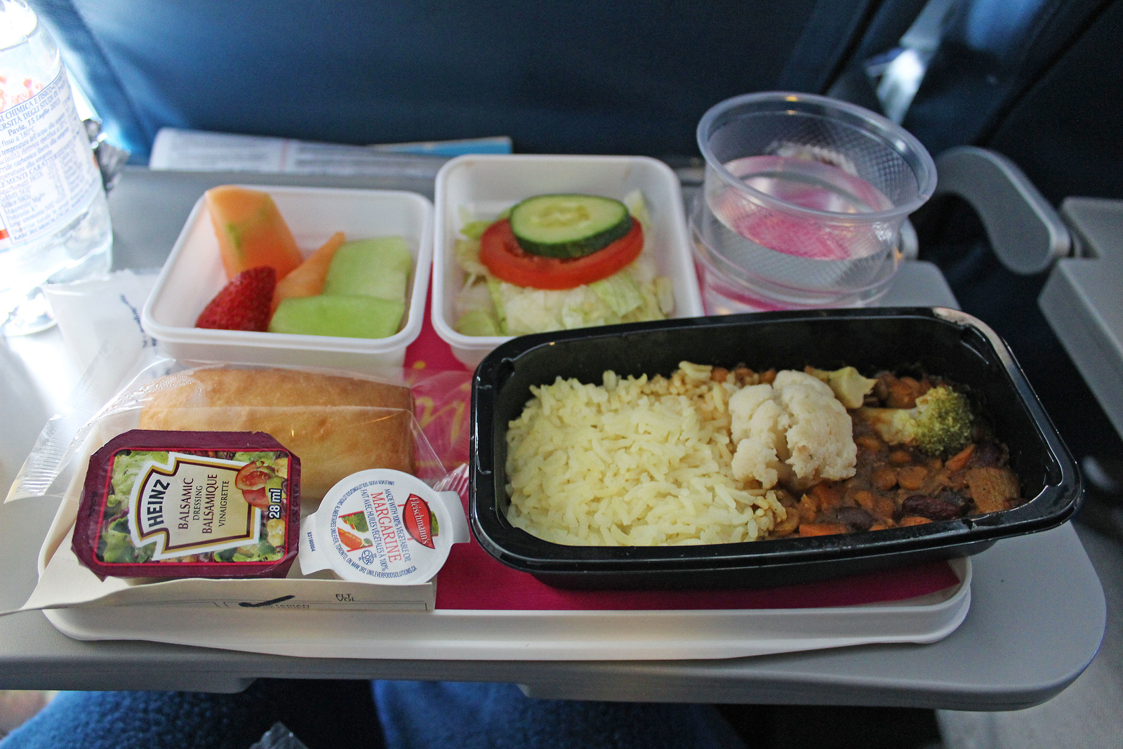 Review of Air Transat with Vegan Meals