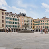 Walking Across Piazza San Giacomo
