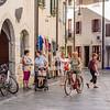 Biking through Old Town