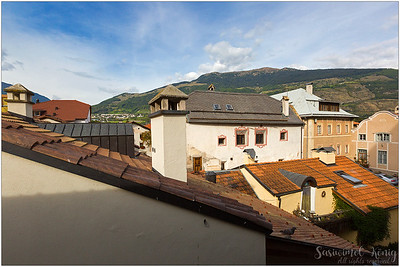 The Roofs, view from the Schludernser Gate Tower