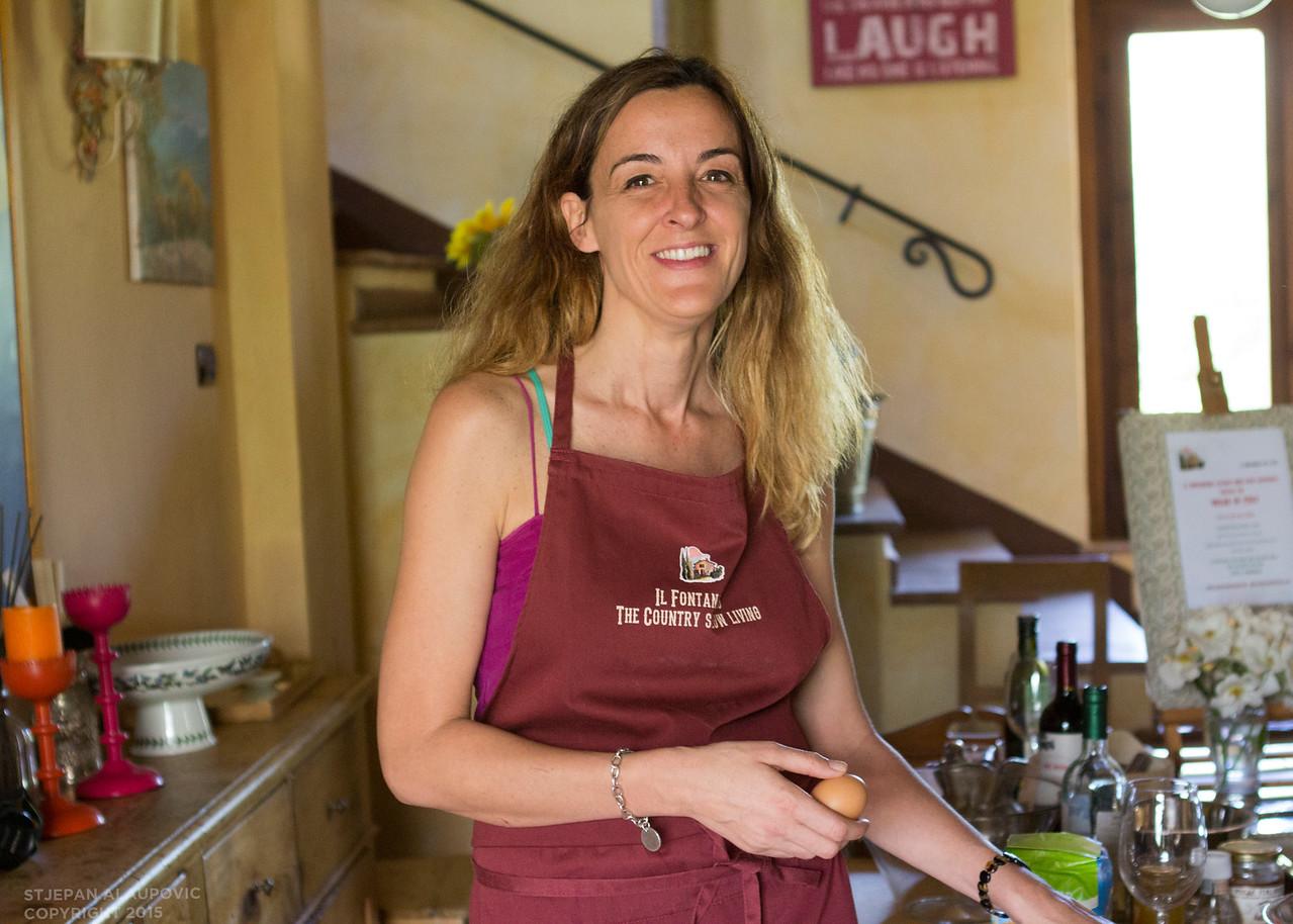 Alina Pinelli (Chef Il Fontanaro)