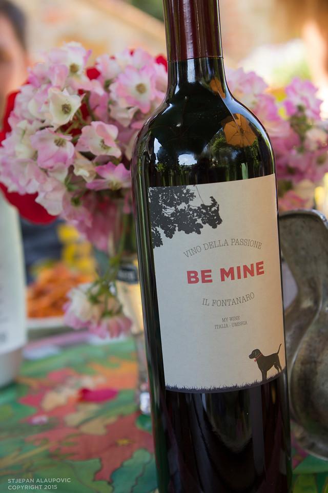 Homemade Wine at Il Fontanaro