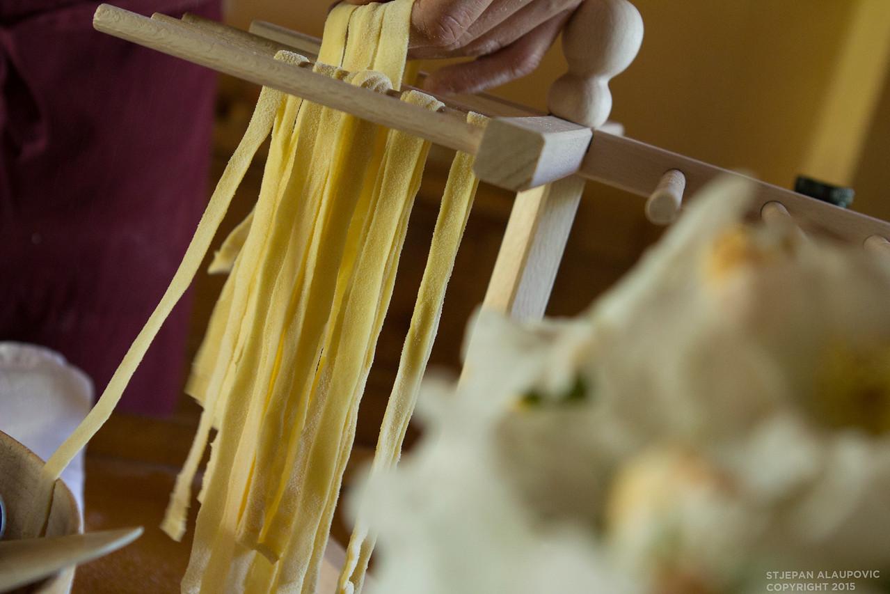 Pasta Drying