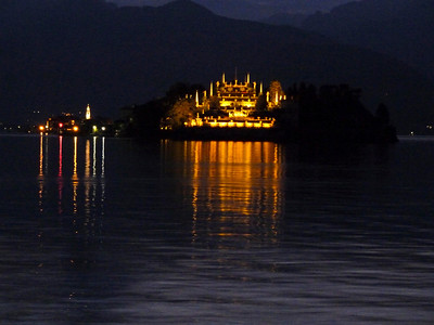 View of Isola Bella from Stressa