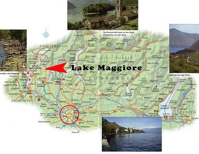 Lake Maggiore Map