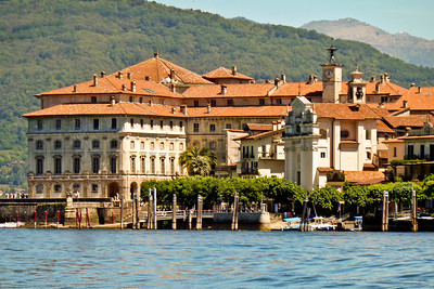 View from Stressa on Lake Maggiore