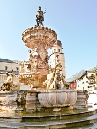 Fountana del Nettuno in Trento
