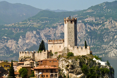 Scaligero Castle in Malcesine